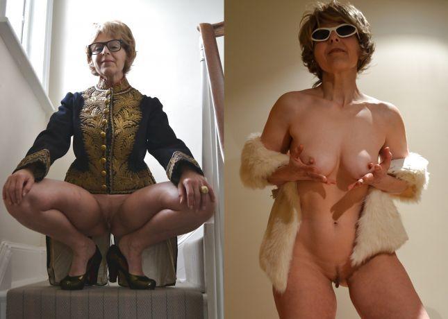 Femmes matures nues